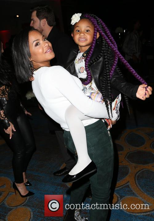 Christina Milian and Violet Madison Nash 9