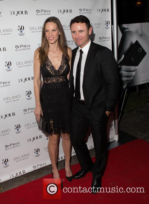 Hilary Swank and Ruben Torres 1