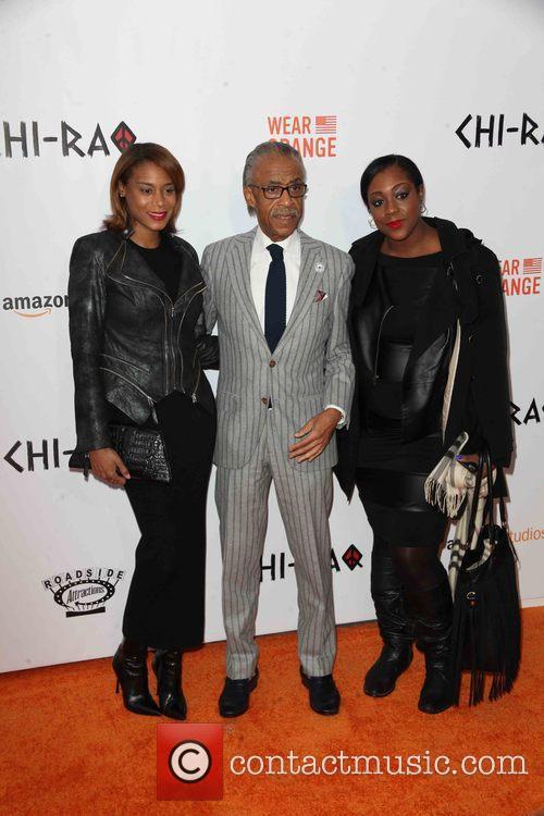 Al Sharpton, Guests and Dominique Sharpton 3