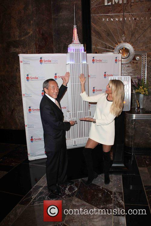 Charles B Wang and Christie Brinkley 1