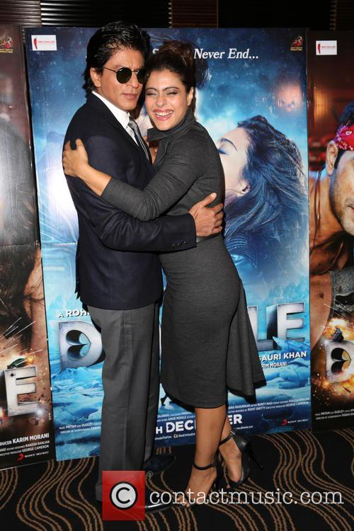 Shah Rukh Khan and Kajol 3