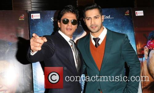 Shah Rukh Khan and Varun Dhawan 9