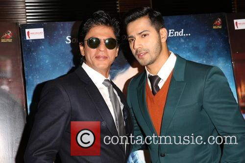 Shah Rukh Khan and Varun Dhawan 10