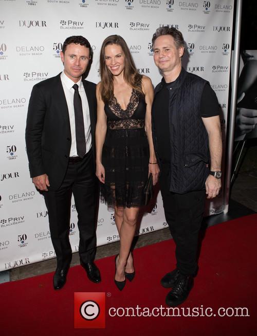 Ruben Torres, Hilary Swank and Jason Binn 1