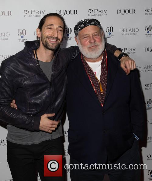 Adrien Brody and Bruce Weber 1
