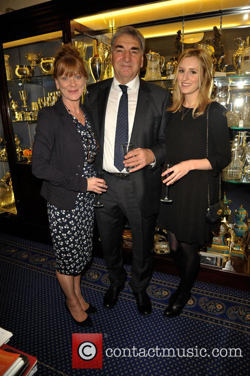 Samantha Bond, Jim Carter and Laura Carmichael 8
