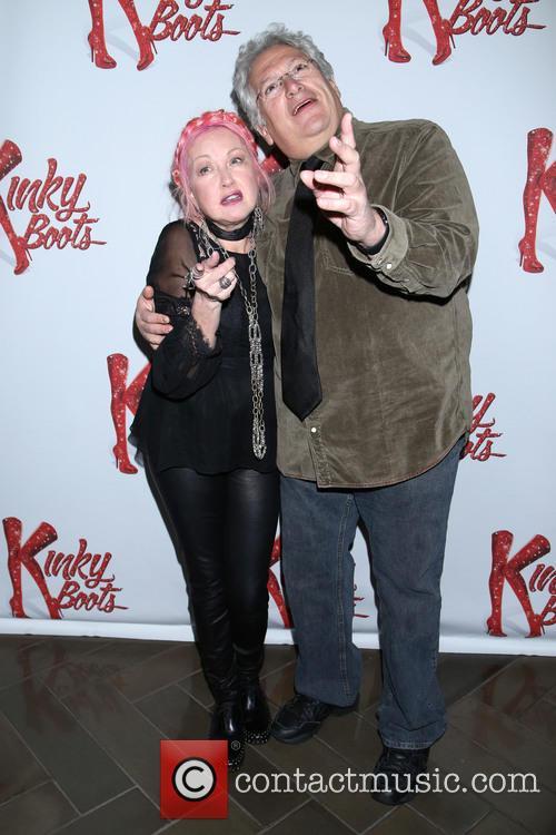 Cyndi Lauper and Harvey Fierstein 2