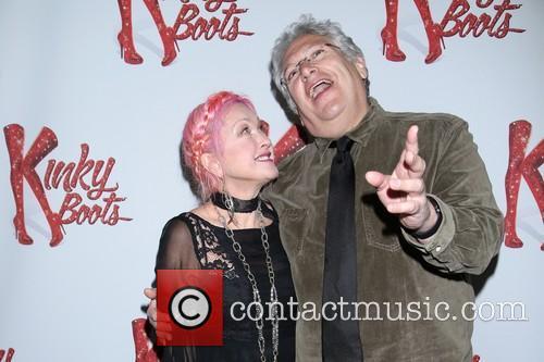 Cyndi Lauper and Harvey Fierstein 3