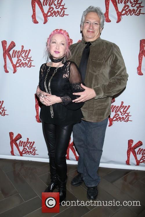 Cyndi Lauper and Harvey Fierstein 4