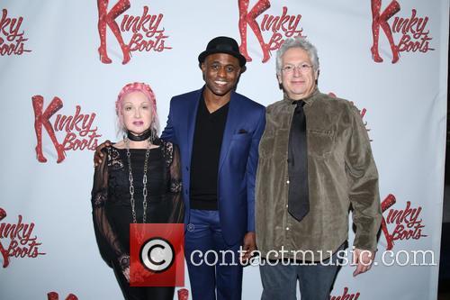 Cyndi Lauper, Wayne Brady and Harvey Fierstein 10
