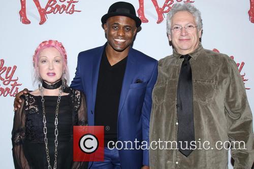 Cyndi Lauper, Wayne Brady and Harvey Fierstein 11