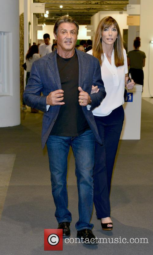 Sylvester Stallone and Jennifer Flavin 2