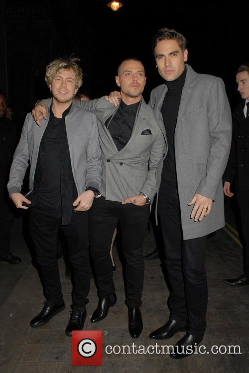 James Bourne, Matt Willis and Charlie Simpson