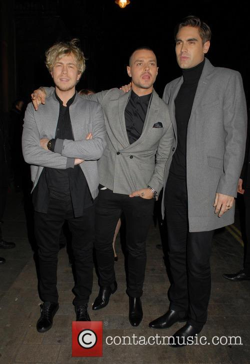 James Bourne, Matt Willis and Charlie Simpson 2