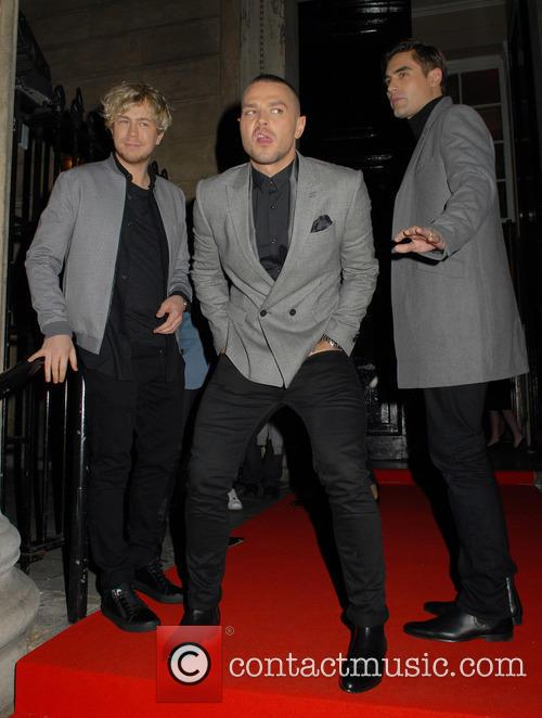 James Bourne, Matt Willis and Charlie Simpson 5