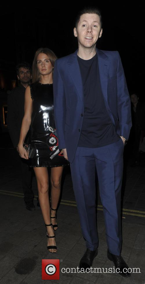 Millie Mackintosh and Professor Green 1