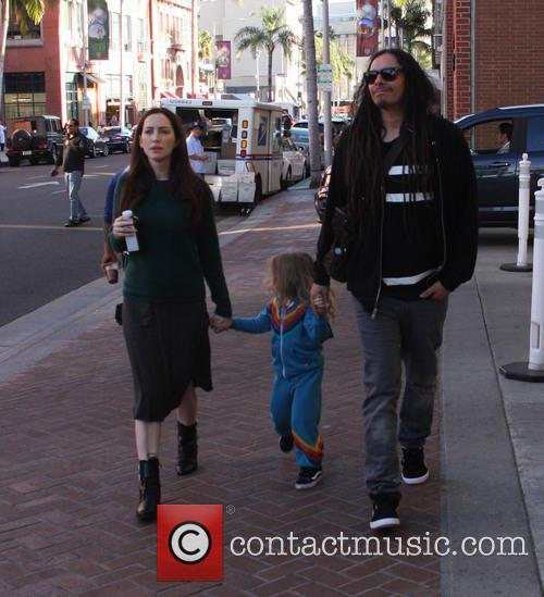 James Shaffer out and about with family