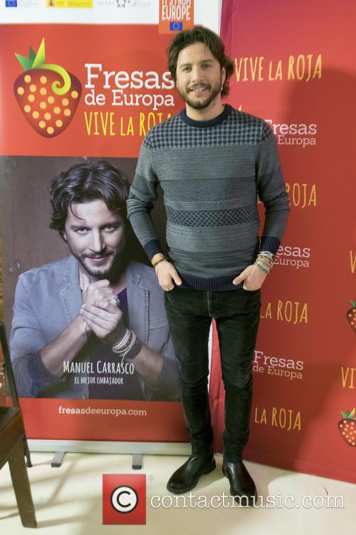 Singer Manuel Carrasco presents new campaign 'Europe Strawberries'