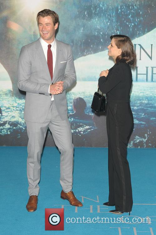 Chris Hemsworth and Charlotte Riley 8