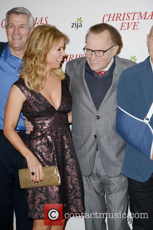Cheryl Hines and Larry King 1