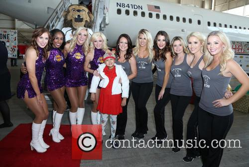 Laker and Kings Girls 3