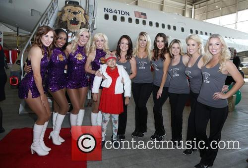Laker and Kings Girls 4