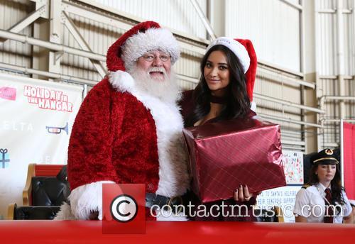 Santa Claus and Shay Mitchell 7