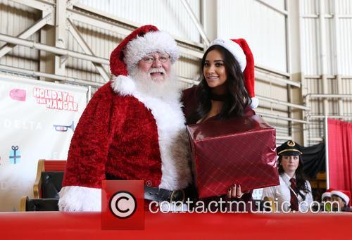 Santa Claus and Shay Mitchell 8