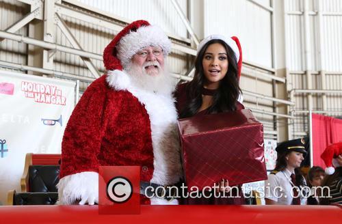 Santa Claus and Shay Mitchell 9