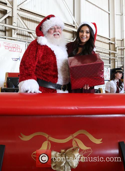 Santa Claus and Shay Mitchell 10