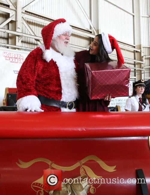 Santa Claus and Shay Mitchell 11