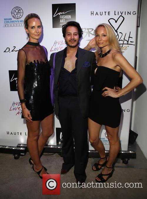 Lady Victoria Hervey, Shawn Kaleka and Indira Cesarine 4