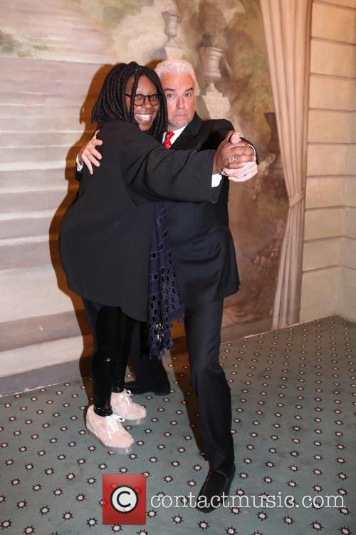 Whoopi Goldberg and John O'hurley 2