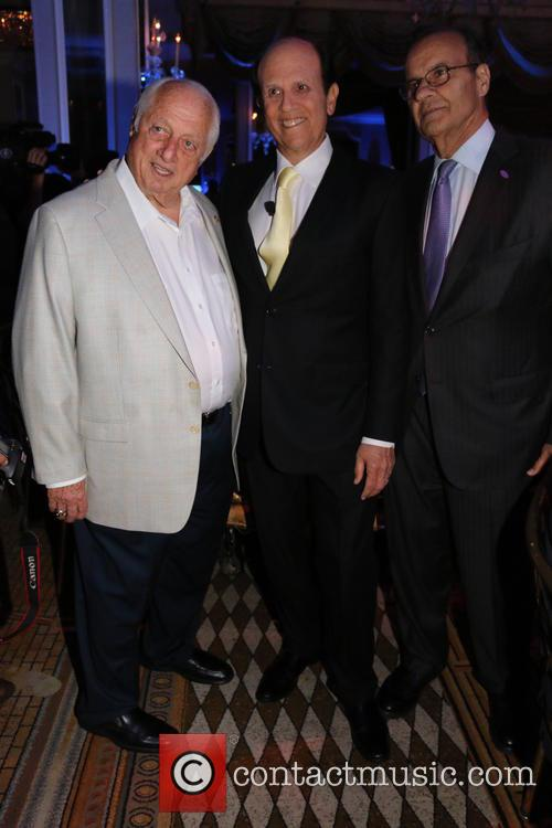 Tommy Lasorda, Michael Milken and Joe Torre 2