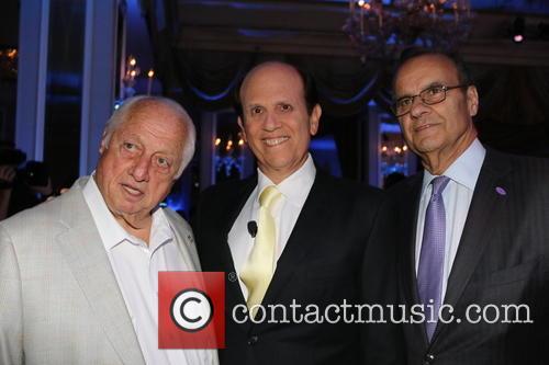 Tommy Lasorda, Michael Milken and Joe Torre 3