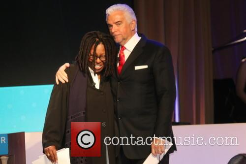 Whoopi Goldberg and John O'hurley 4