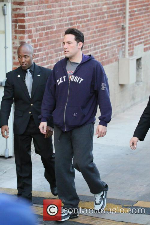 Ben Affleck going into the ABC studios for...