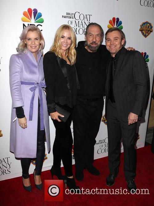 Andrea Bernard Schroder, Eloise Dejoria, John Paul Dejoria and Ricky Schroder 1