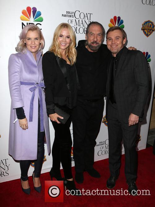 Andrea Bernard Schroder, Eloise Dejoria, John Paul Dejoria and Ricky Schroder 2