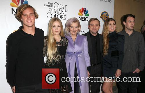 Andrea Bernard Schroder, Ricky Schroder, Cambrie Schroder, Luke William Schroder, Faith Anne Schroder and Holden Richard Schroder 5