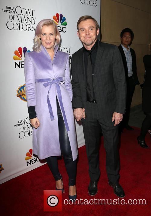 Andrea Bernard Schroder and Ricky Schroder 6