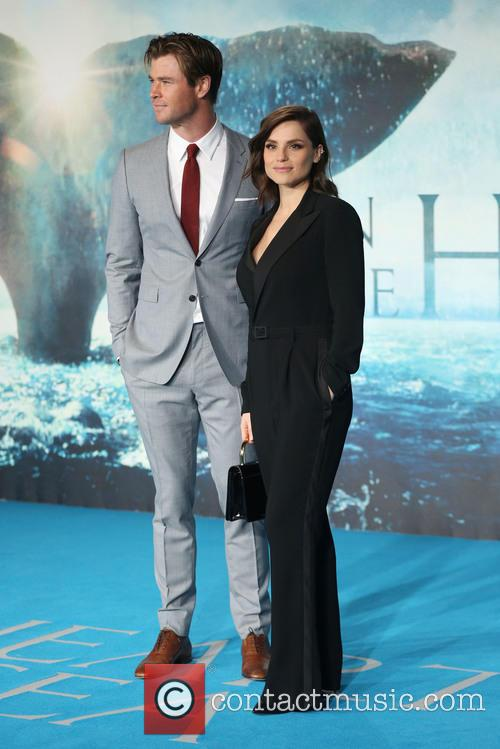 Chris Hemsworth and Charlotte Riley 2