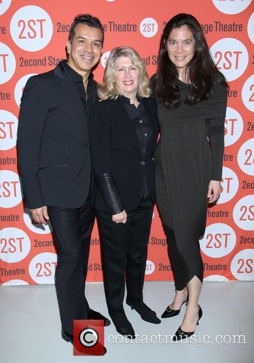 Sergio Trujillo, Carole Rothman and Diane Paulus 2