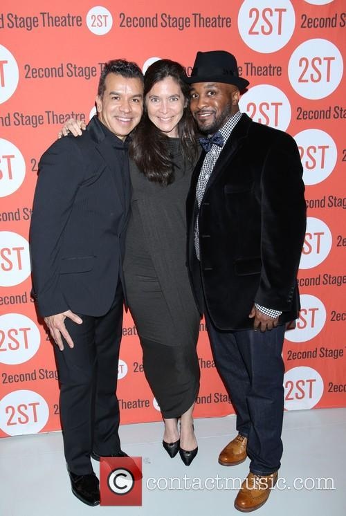 Sergio Trujillo, Diane Paulus and Darrell Grand Moultrie