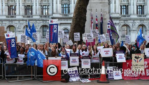 Nurses bursary protest