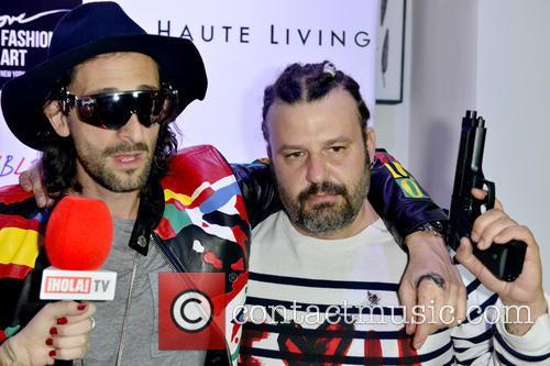 Adrien Brody and Domingo Zapata 6