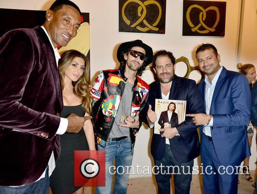 Scottie Pippen, Larsa Younan, Adrien Brody, Brett Ratner and Kamal Hotchandani 1