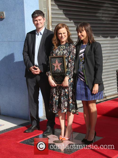 Mike Schur, Amy Poehler and Rashida Jones 1