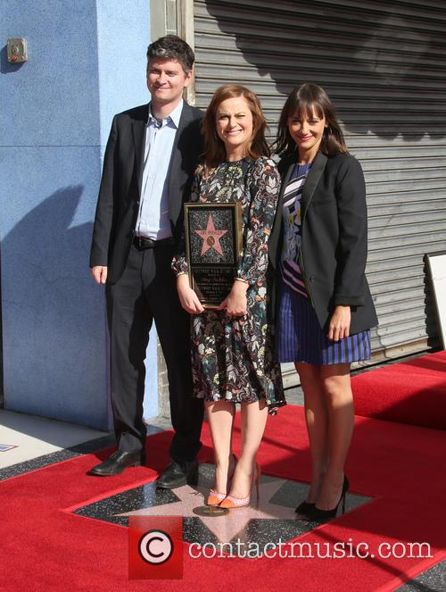 Mike Schur, Amy Poehler and Rashida Jones 2