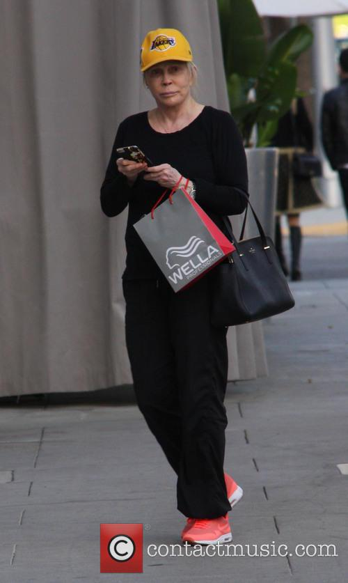 Faye Dunaway out and about in Beverly Hills